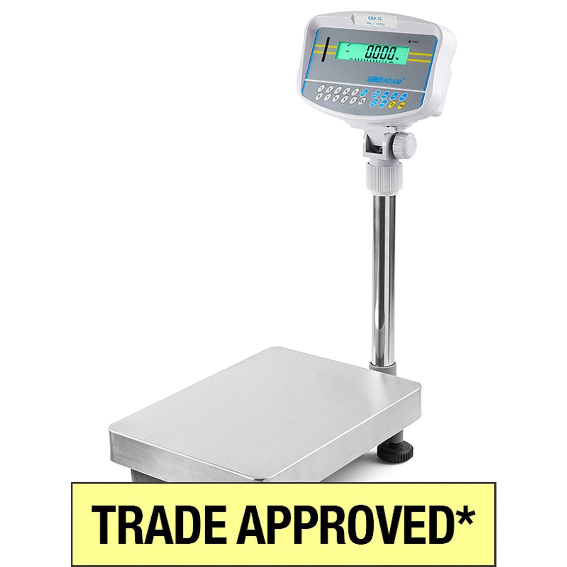 Adam GBK Trade Approved Platform Scales Photo: ©The Scale Shop Australia