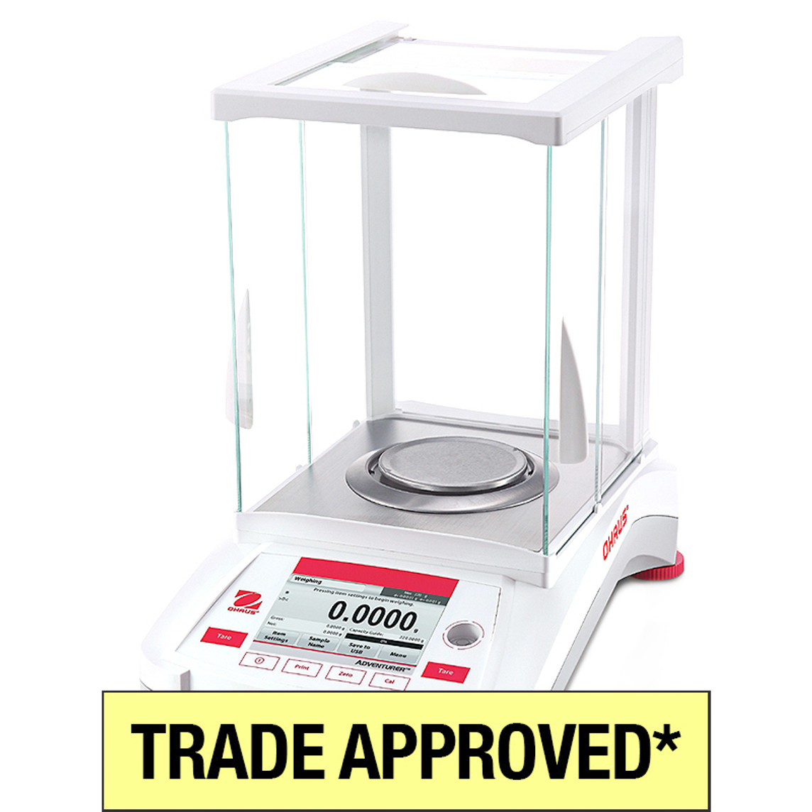Ohaus AX NMI Approved Analytical Balance