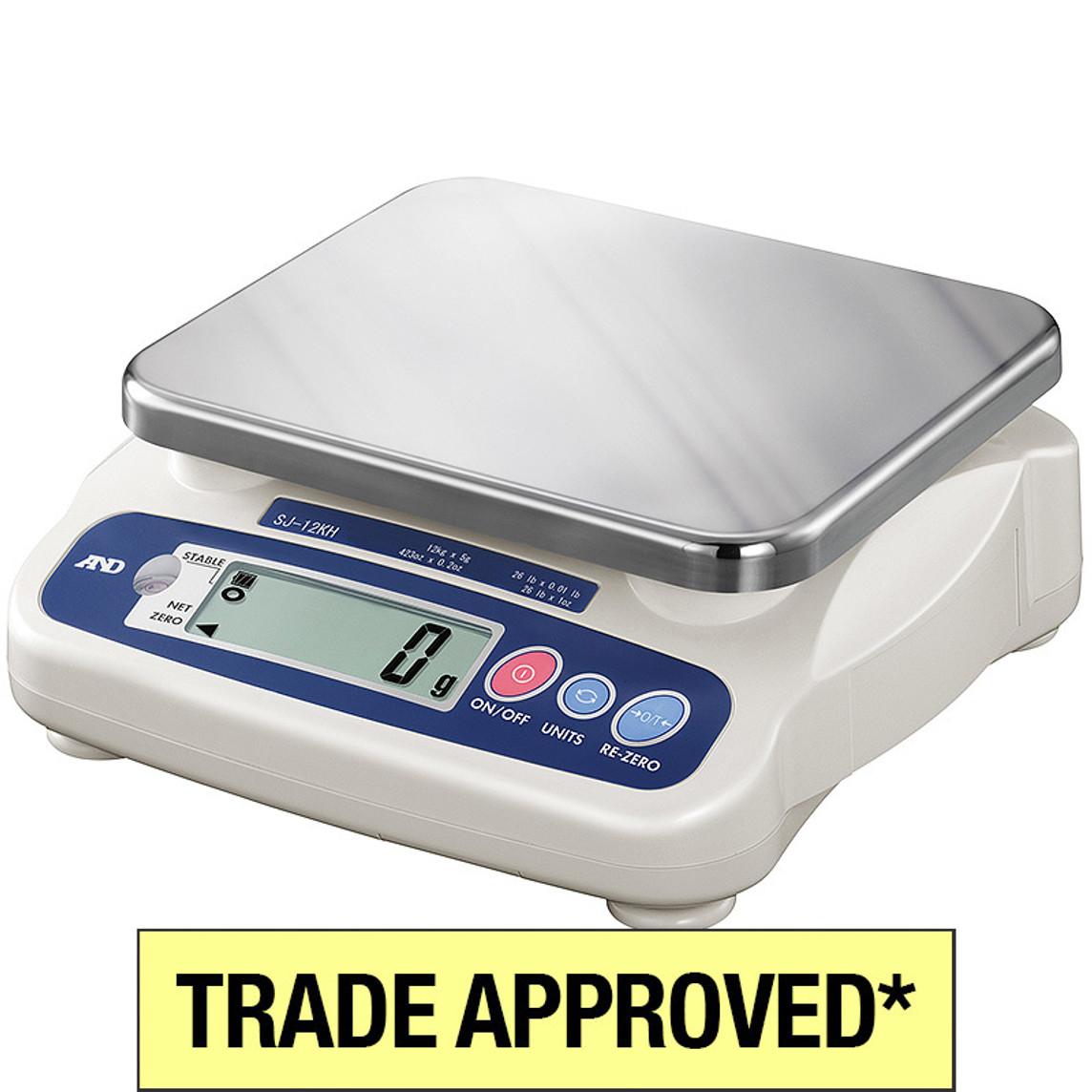 A&D SJHS Trade Verified Gram Scales