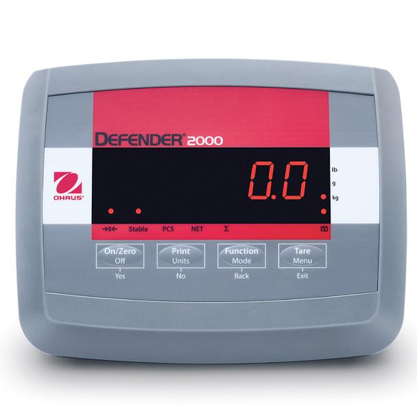 Ohaus Defender 2000 Indicator
