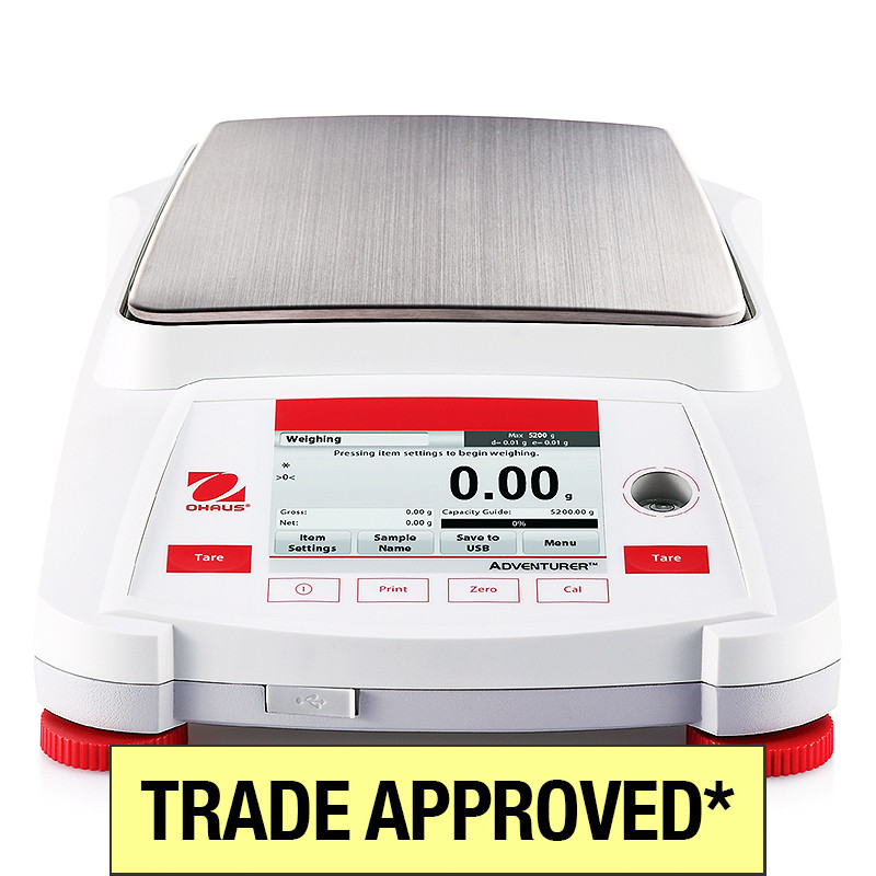 Ohaus AX NMI Trade Approved Balance