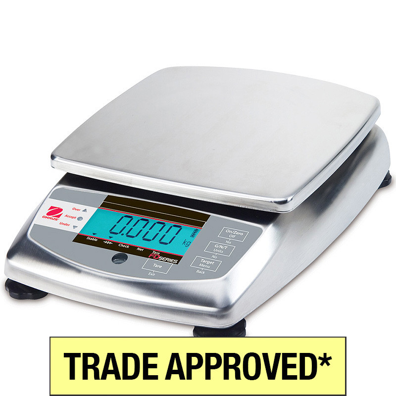 Ohaus FD Trade Approved Scales