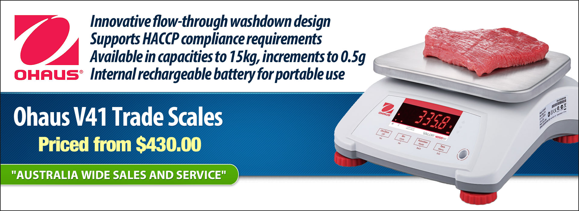 Ohaus Valor 4000 On Sale