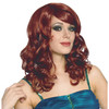 Red Curly Bangs Lolita Wig 6037