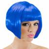 Blue Bob Wig Short Wig Costume Supermodel 6044