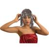 Silver Tinsel wig 6069