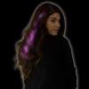 Pink Starlight Fiber Optic Hair Extensions 6161