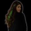Green Starlight Fiber Optic Hair Extensions 6162