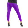 Purple Footless Leggings 8098
