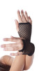 80's Short Fishnet Gloves - Black 12 PACK 1235