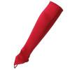 """Red Satin Gauntlet Fingerless Gloves 18"""" 12 PACK 5080"""