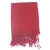 Burgundy Pashmina Shawl 100% Fine Wool Mix 12 PACK 2102