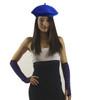"Royal Blue Beret Wool 22.5"" Standard Adult Size 1371"
