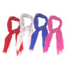 """12 PACK Long Sheer Chiffon Scarves Mix Color 21"""" x 60""""  2128"""