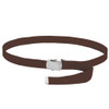"""12 PACK Brown Canvas Adjustable Belt Adjusts to 44-46"""" Size 2211"""