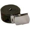 "Camo Canvas Adjustable Belt Adjusts to 44-46"" Size 2212"