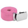 """Light Pink Canvas Adjustable Belt Adjusts to 44-46"""" Size 2214"""