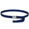 """Canvas Belt Navy Blue Adjustable Adjusts to 44-46"""" Size 2216"""