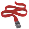 """Red Canvas Adjustable Belt Adjusts to 44-46"""" Size 2220"""