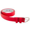 16 PACK Red 1 Inch Skinny Belts Large Size