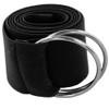 Black Stretch D-Ring Belt 2683