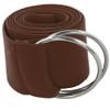 Brown Stretch D-Ring Belt 12 PACK 2684
