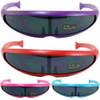 Retro Sunglasses 80's Neon Purple 1004