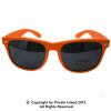 Orange Sunglasses |  Iconic 80's Style |  12 PACK Adult Size 1053