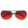 Red RockStar Elvis Style Sunglasses 1133