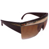 Brown Lady Diva Sunglasses 1143