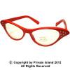 Red Cat Eye Glasses |  Red Cat Eye Glasses Wholesale | 1190