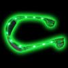 Green Rave LED Aviator Style Sunglasses 7103