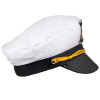 12 PACK Adult Captain Yacht Hat with Yellow String  1343