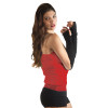 Black Knit Arm Warmers PAIR 1245