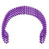 Mardi Gras Beads Purple 7mm 12 PACK 6556