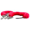 Red Furry Handcuffs   Red Wholesale Handcuffs   1803