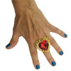 Valentine Hearts Ring 6563