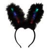 Black Flashing LED Bunny Ears Premium 1876