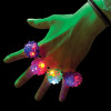 Wholesale 12 PACK Flashing LED Bumpy Ring 1879