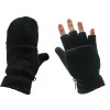 Fleece Fingerless Gloves |  With Mittens 5008