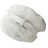 White Furry Ear Warmers 6706