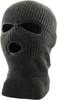 Three Hole Knit Ski Mask Charcoal 3061