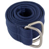 Navy Military D-Ring Canvas Belt 2242