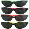 KIDS 12 Pack Wrap Around Neon Party Sunglasses Assorted Colors 1129