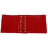 """Red Elastic Stretch 4.5"""" Wide Corset Cinch Belt 2201"""