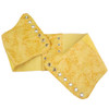 Ultra Wide Yellow Patent Leather Stretch Cinch Belt 2724