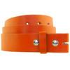 Buckleless Belt Orange ADULT 12 PACK