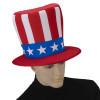 12 PACK Jumbo Patriotic Hat 4th of July Uncle Sam 5925