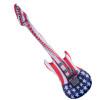 Patriotic Inflatable Guitar  9138