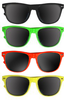 80's Style Iconic Sunglasses | 12 PACK Adult Mixed Colors 1050D